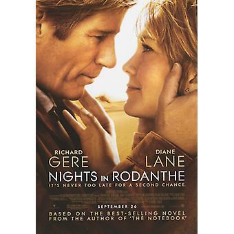 Yötä Rodanthe elokuvan juliste tulosta (27 x 40)