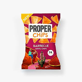 Properchips Barbecue Lenticchie Chips 24g x20