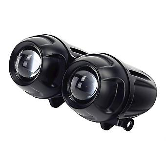 Bike It Dominator 2 0 Motorcycle Twin-Round Projector Headlight H1 Right Dip