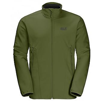 Jack Wolfskin Mens Northern Pass Jacket Zip Up Coat Green 1305331 4521