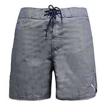 Puma Mens السباحة جذوع Capoeira شاطئ شورت الأزرق 511008 02 R9G