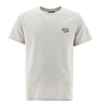 A.p.c. Coeavh26840paa Men''s Grey Cotton T-shirt