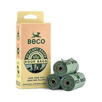 Beco Pets Eco Dog Poop Bags (Pack de 96)