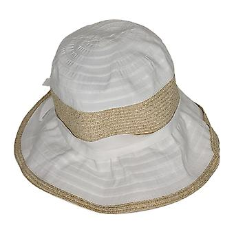 Physician Endorsed Adjustabled UPF 50 Belle Epoque Hat White A347809