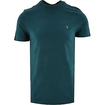 Farah Teal Danny T-Shirt