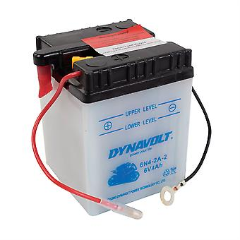 Dynavolt 6N42A2 Conventional Dry Charge Battery With Acid Pack