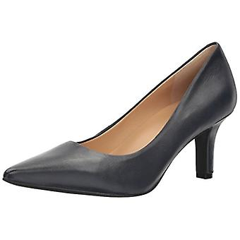 Trotters Womens T1714-400 Leather Pointed Toe Classic Pumps