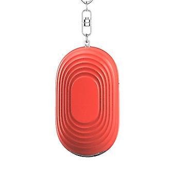 130db személyes biztonságos hangjelző kulcstartó SOS vész led lámpával