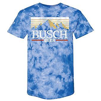 Busch Mountain Logo Tie Väri T-paita