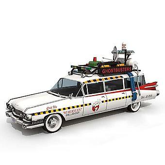 Ghostbusters Auto Ecto-1a 1:20 Taittuva leikkaus Mini Käsintehty 3D Paperi Malli