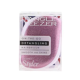 Trassel Teezer Kompakt Styler On-The-Go Detangling Hårborste - # Candy Sparkle 1pc