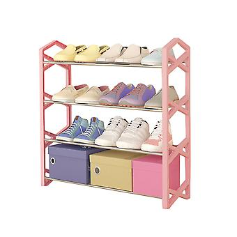 YANGFAN Simple Trending Stackable Shoe Rack Shoe Shelf Organisateur de stockage