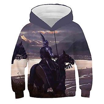 3d gedruckt Einhorn Pferd Hoody
