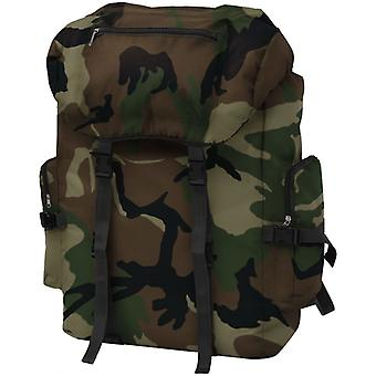 vidaXL Army Backpack 65 L Camouflage