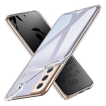 Coque Pour Samsung Galaxy S21+ 5g, Housse De Protection En Silicone De Haute Qualité, Transparent