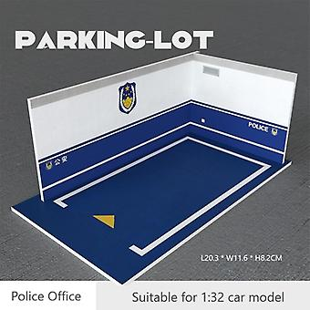 Scale Plastic Diy Model, Pvc Parking Lot, Space Scene, Garage Home Collection,