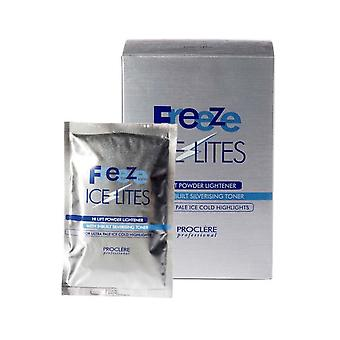 Proclere Freeze Ice Lites Hi Lift Powder Lightener Bleach,