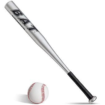 DZK Baseball Bat and Baseball Set Baseball Bat Red Silver Black Blue Gold to choose aluminum
