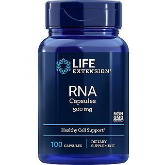 Life Extension RNA 500mg Capsules 100