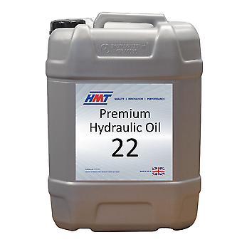 HMT HMTH005 Premium Hydraulic Oil 22 - 20 Litre Plastic - Iso Vg 22