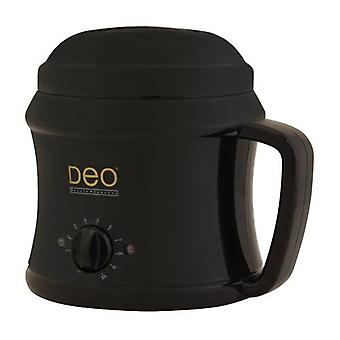 DEO Heater with 10 Settings for Warm Crème & Hot Wax Lotions - Black - 500cc