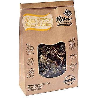 Ribero Elderberry Leaves, Flowers and Berries (Small pets , Dry Food and Mixtures)