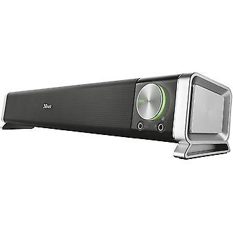 FengChun Trust GXT 618 Asto Soundbar-Lautsprecher (geeignet fr PC und TV-Gert)