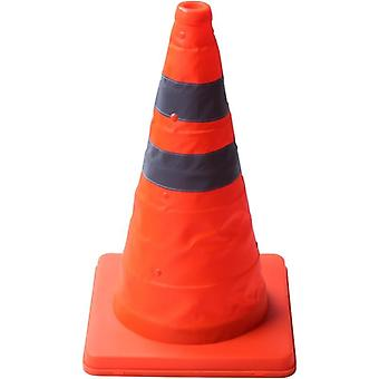 40cm Warning Reflective Cone Traffic Movement Retractable Collapsible