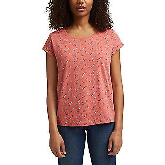 edc by Esprit 021CC1K318 T-Shirt, 645/CORAL, X-Small Woman