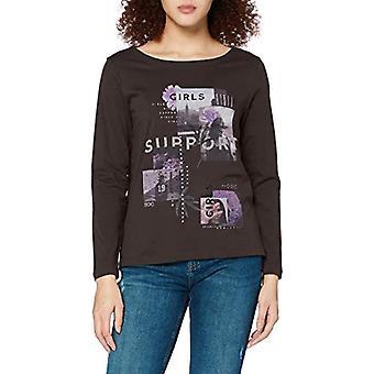 edc av Esprit 110CC1K311 T-Shirt, 015/GUNMETAL, S Woman