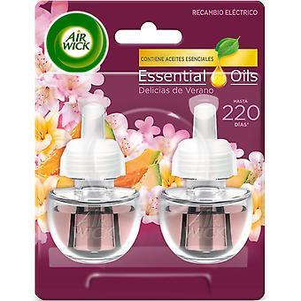 Air Wick Summer Delights Electric Air Freshener 2 refills
