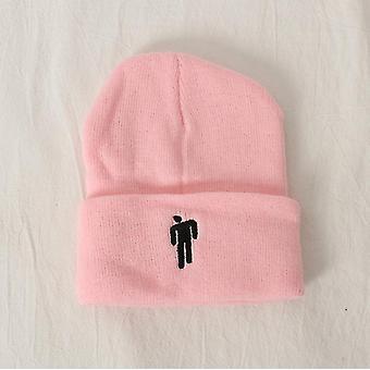 الوردي مناسبة لفصل الخريف والشتاء محبوك القبعات، والقبعات الهيب هوب، والقبعات الصوفية، والرجال الأوروبيين والأمريكيين az4289