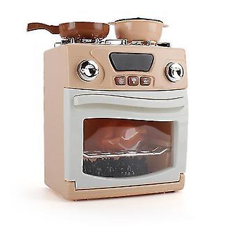 סימולציית צעצוע לילדים בתנור מכשיר ביתי מיקרוגל תנור יצרנית לחם מתקן מים יצירתי מטבח סט מתנה az18261