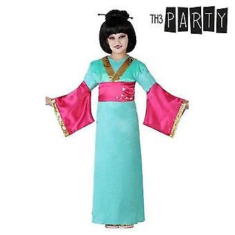 Lasten puku Geisha Blue