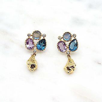 Boucles d?oreilles Niiki Paris - NCE111 - multicolore - Collection Colors