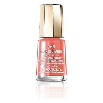 Nail polish Nail Color Mavala 169-waikiki orange (5 ml)