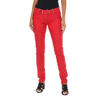 MET pantalones de mujer doble ajuste rojo