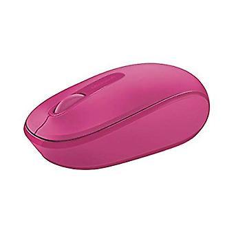 Souris mobile sans fil à 3 boutons Microsoft 1850 - Magenta/Rose