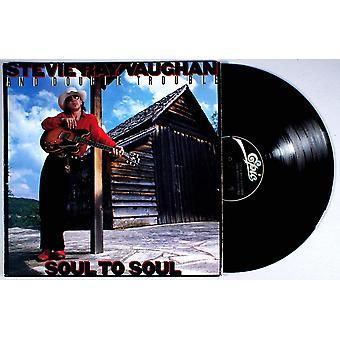 Stevie Ray Vaughan ja kaksinkertainen ongelma - Soul to Soul vinyyli
