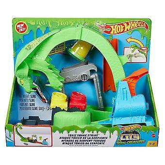 Hot Wheels Toxic Snake Strike Playset
