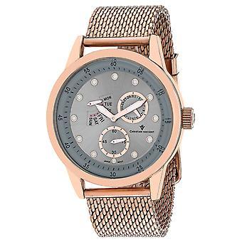 Christian Van Sant Men's Rio Silver Dial Watch - CV8718