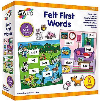 Felt First Words Play & Learn Lelu