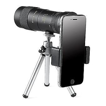 MAIFENG 8-40x40 Outdoor Portable Zoom Monokular HD Optik BAK4 Tag NachtsichtTeleskop + Stativ + Phon