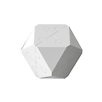 3d Intelligence Rubik's Cube Puzzle Building Blocks (Biały)