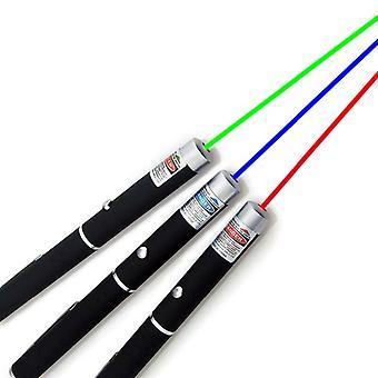 3Pcs ponteiro de visão laser 5mw caneta laserpoint de alta potência