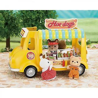 Sylvanian Families Restaurant Car Set