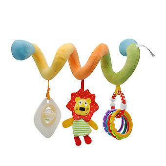 New Hanging Spiral Rattle Stroller Cute Animals Crib Mobile Bed Baby Toys
