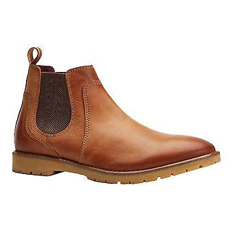 Base London Herre Zimmer Læder Chelsea Støvler