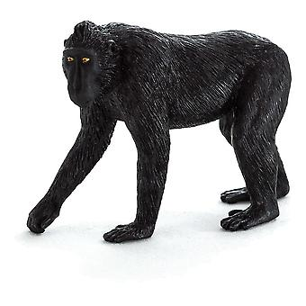 Wild Life & Woodland Black Crested Macaque Toy Figure