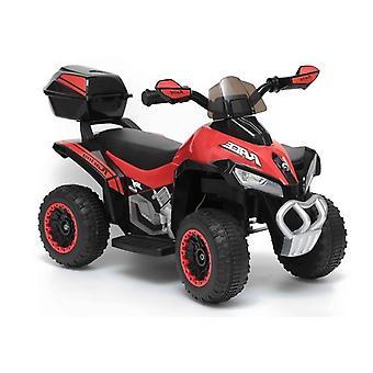 Elektrisch bestuurbare kinder quad 45W – rood